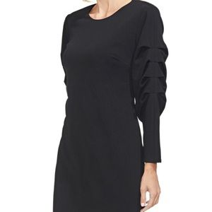 Vince Camuto Dresses - NWT Vince Camuto Black Tiered Sleeve Dress